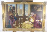 Large Gilt Frame Picture - Subject Othello